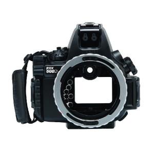 水中カメラ用防水ハウジング
